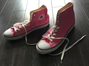Souliers Converse rose Chuck Taylor All-Star pink Converse shoes