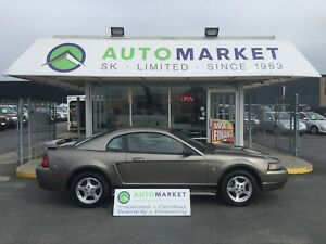 2002 Ford Mustang Deluxe Coupe 5 SPD. NEW BRAKES!