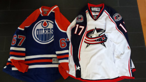 Gilbert Brule Jersey collection Columbus Oilers U17 BCHL