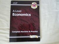 CGP A Level Economics (new spec) Complete Revision & Practice