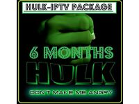 6 MONTH IPTV SUBSCRIPTION - WITH ONLINE HELP
