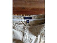 Tommy Hilfiger Mens Khaki Shorts - 32-34 Inch Waist