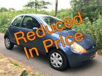 (55 Plate) Low Mileage Ford Ka 1.3i Collection