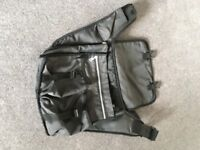 Quinny Baby Changing Bag, Charcoal / Black, Good Condition