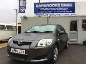2007 07 TOYOTA AURIS 1.4 -12 MONTHS MOT - SERVICED - WARRANTY - VERY CLEAN CAR !!