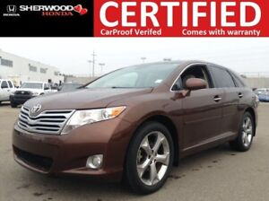 2010 Toyota Venza V6 AWD   BACK CAM   3M   HEATED LEATHER   AUX/