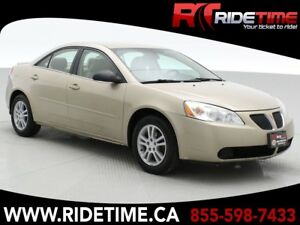 2006 Pontiac G6 Base - Low Mileage, Cheap Car