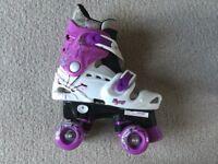 Roller skates for girl size 13-3 (adjustable)