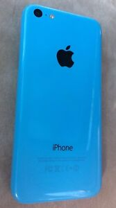 Blue IPhone 5C with Fido