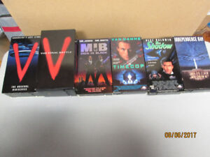 VHS Movies - Action, Science Fiction