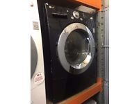 LG 9/6 KG DIRECT DRIVE BLACK WASHER DRYER RECONDITIONED