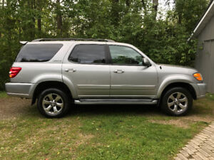 2002 Toyota Sequoia Limited 4x4 in great shape