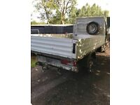 Aluminium pick up body off vw crafter 12ft x 7ft