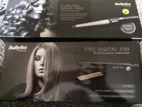 NEW DIGITAL STRAIGHTENERS AND PRO CURL WAND
