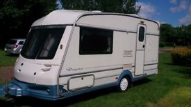 FOR SALE, OUR VERY NICE ABI DAYSTAR CARAVAN, WELL LOOKED AFTER, IN VERY CLEAN CONDITION, WITH MOVER