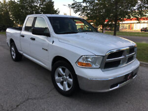 2010 DODGE RAM 1500/4DOOR/WARRANTY/QUAD CAB/V8