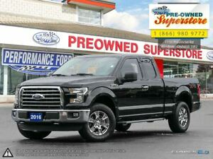 2016 Ford F-150 XTR Supercab with rear camera!