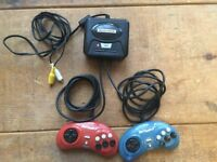 Street Fighter 2 + Ghouls 'N' Ghosts Sega Mega Drive TV Plug and Play Console