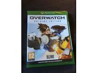 Xbox one game overwatch origins wdition