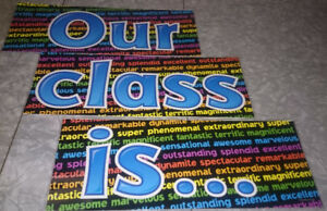 Teacher Bulletin Board Sets
