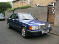 mercedes 190e Limited Edition,1800 automatic,