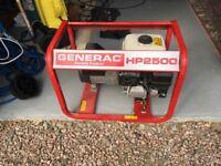 Portable Petrol Generator GENERAC HP2500ff