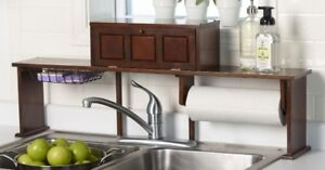 Over-the-Sink Organizer Shelf, New