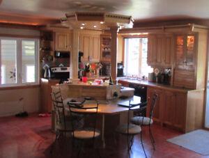 Armoires et Cabinet cuisine en Chêne