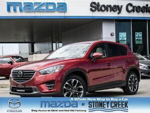 2016 Mazda CX-5 GT Tech, Bose, Leather, ACC, Nav, AWD, DEMO!