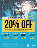 20% OFF SUMMER SALE! - PRUVIT KETO//OS, MAX, and Promoter Packs!