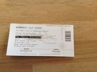 Olly Murs Tickets for Newmarket Nights 18th August