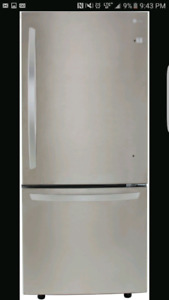 """Looking for 30"""" bottom freezer stainless refrigerator"""