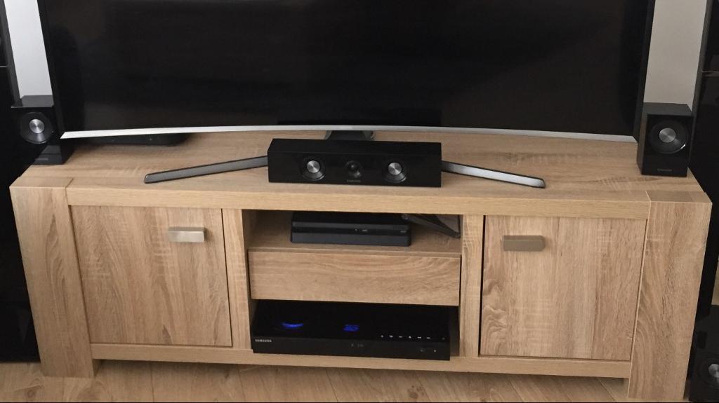 Madsen Wide Tv Unit Tv Stand From Next Light Oak
