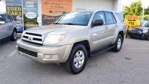 2004 Toyota 4Runner SR5 - 4WD, Power Option, Clean Title.