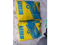 2 x Concrete bag