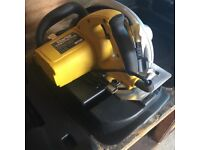 Clarke CCS2 185mm Circular Saw like new with case