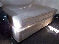 *FREE* King Size Divan Bed and Memory Foam Mattress