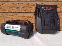 BOSCH GARDEN 36v Li-ion 4.0ah Battery & Charger