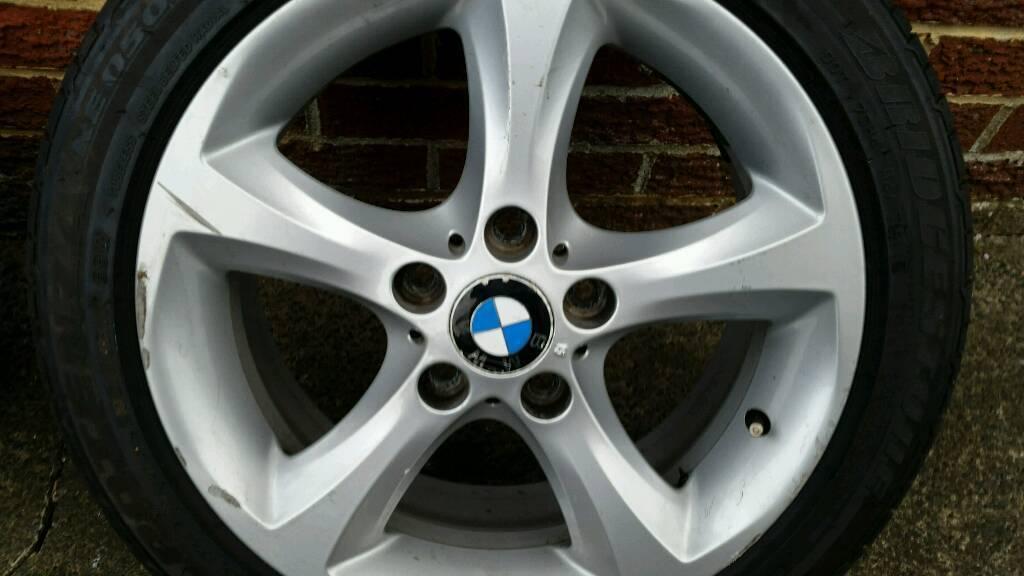 Bmw 118d spare wheel