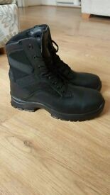 Goliath Work Boots Steel Toe Size 10