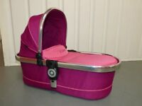 iCandy Peach 3 Main Carrycot in Fuchsia Pink