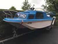 15ft Dory Fishing boat for sale - price reduced to sell.