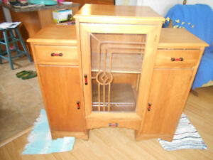 60+ year old hutch/china cabinet