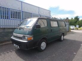 L REG TOYOTA HIACE 2.4 DIESEL LONG WHEEL BASE BARGAIN!!