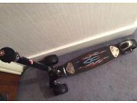 Micro Monster kickboard scooter