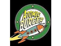Atomic Burger, Bristol Is Looking For A Shift Supervisor NOW! £8 PER HOUR PLUS TIPS (APPROX£12 P/H)!