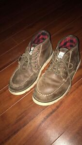 Size 8 men's boots and sneakers