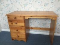 Pine dresser/desk for sale