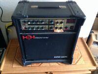 HH SUPER SIXTY GUITAR AMP