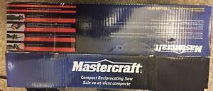 Master craft compact reciprocating saw